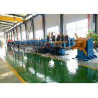 High Frequency Welding Tube Mill Machine Max 80m/Min Worm Gearing