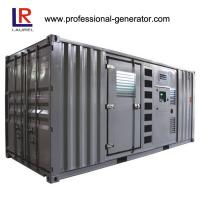 Electrical 800kw 1000kVA Cummins Generator with Auto Control Panel Manufactures