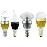 Indoor LED Candle Light Bulbs Home Decorative Lighting , 5050 SMD E27 / E26 Socket Manufactures