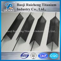 China Titanium Mesh for Anodizing Anode on sale