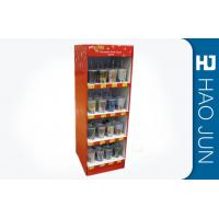 China Point Of Sale Cardboard Display Stands CMYK Full Color Print , Color Customized on sale