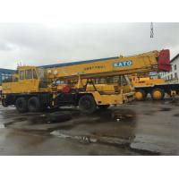 Mitubishi Engine Used Kato Crane For Sale , NK250E 25 Ton Japan Truck Crane , Import From Japan Manufactures
