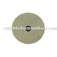 Electroplated Flexible Round Diamond Wet Polishing Pads 100mm Diameter Manufactures