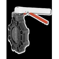 PP 1.4408 Material Industrial Butterfly Valve High Temperature Resistance Manufactures