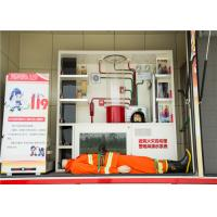 Gross Weight 7880kg Industrial Fire Truck , Measuring Meter Heavy Rescue Fire Truck Manufactures