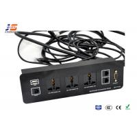 Multimedia Conference Table Connection Box , USB Network / Telephone Connect Manufactures