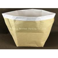 Buy cheap Multi Wall Woven Plastic Cement Kraft Paper Valve Bag 10 Colors Printing from wholesalers