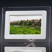 China 7-inch DPF Acrylic Frames, Automatic Slideshow, Infrared Remote Control, Support Picture/Audio on sale