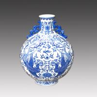 China chinese antique hand painted porcelain vase on sale
