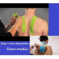 Kinesio tape KT taping stripes pre-cut shoulder-neck application pack muscular fitness Manufactures