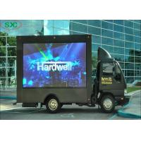 China Easy Installation Mobile Truck Led Display Screen Outdoor P10 10000 Dots / Sqm on sale