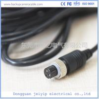 Customized 3 Pin Backup Camera Cable , PVC Jacket Backup Camera Extension Cable Manufactures
