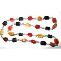 Wired Gemstone Necklace (0134) Manufactures