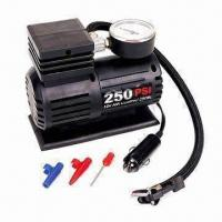 12V DC Mini Air Compressor, 10ft Power Cord with Switch and Cigarette Lighter plug Manufactures