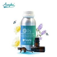 Pure Lavender Essential Oil / Purifying Air Aromatherapy Fragrance Oils Manufactures