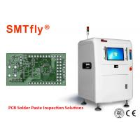0.3mm Thickness PCB Inspection Machine , Solder Paste Inspection Equipment 700mm/S Manufactures