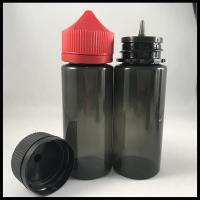 China Black Unicorn Dropper Bottles 120ml For Vapor Liquid Non - Toxic Health And Safety on sale