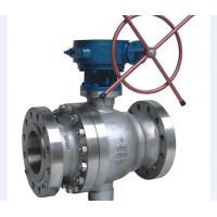 Metal Seated Cast Steel Ball Valve / Pneumatic Actuated Ball Valve Manufactures