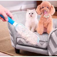 China Pet Brush Fur & Lint Remover colour box deshedding grooming tool Double-sided Pet Hair Remover Brush on sale
