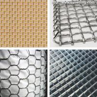 China Durable galvanized iron wire mesh 1, 1.5, 2 for road, railway, airport on sale