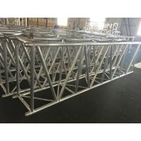 1100mm X 600mm Lighting Truss System , Aluminum Alloy Square Spigot Dj Lighting Truss Manufactures