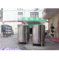 China Stainless Ro Di Water Storage Tank For Liquid Chemical Storage 0.1m3 To 120m3 on sale