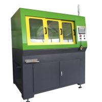 Iron Dust Cores Wheel Cutting Machine Avoid Material Burns Line Speed Adjustable Manufactures