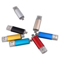China 2 in 1 Micro USB OTG Flash Drive High Speed USB 3.0 Pen drive 16GB on sale