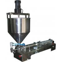 G1WGDB500 Pneumatic Thick Sauce Vertical Mixing Filling Machine Manufactures