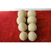China AL2O3 65% Inert Alumina Balls , Castable Alumina Ceramic Ball Customized Size on sale