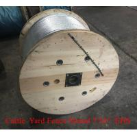 """Buy cheap Cattle Yard Fence Steel Wire Strand 7/16"""" Galvanized Strand Packing On Drum from wholesalers"""