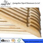 top grade natural wooden hanger hotel hanger