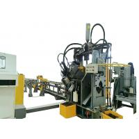 China Hot Sale High Speed CNC Angle Steel Punching, Marking and Cutting Machine Line Manufactures