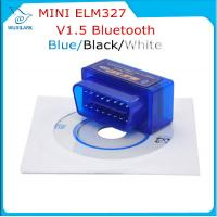 China Blue V1.5 Super Bluetooth ELM 327 optional Version 1.5 elm327 interface supports Torque Car Code on sale