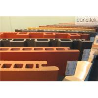 Anti - Water Ceramic Exterior House Wall Panels For Building Rainscreen System Manufactures