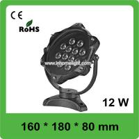 1320LM 12W 90 Degree RGB LED Underwater Lights For Swimming Pool Manufactures
