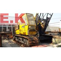 50ton tracked Japanese P&H lattice boom crawler crane lifting construction equipment(5055) for sale