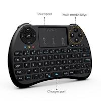 Colorful Backlit H9 Mini Wireless Keyboard And Mouse With Touchpad / TV Box / PC Manufactures