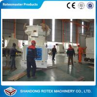 China Industrial Stainless Steel Double - Layer Ring Die Biomass Pelleting Machine on sale