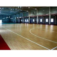 Commercial Use PVC Floor Covering / Pvc Vinyl Floor Tiles Fire Retardant Manufactures