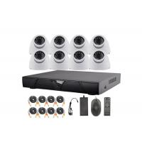 1.3 Megapixel 1080P AHD Dome Surveillance Security Camera System 8 Channel Manufactures