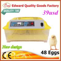 EW-48 Automatic incubator new design CE certificate thermostat​ poultry incubator machine with setter and hatcher Manufactures