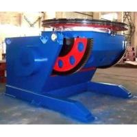 3 Tons Tilting Automatic Welding Positioner  Circular Working Table VFD Control Rolling Speed Manufactures