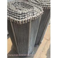Custom Flat Wire Compound Balanced Belt 304 316 316l Stainless Steel Conveyor Manufactures