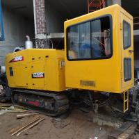 Yellow Color 32 Tons Horizontal Directional Drilling Rigs 0-140RPM Spindle Speed Manufactures