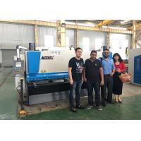 800mm Back Gauge Metal Guillotine Cutter Nc Shearing Machine With Blades Gap Adjustment Manufactures