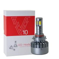3000K H8 / H9 / H11 Car LED Headlights V10 DC 12 - 24V 120W High Power Manufactures