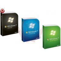 China Microsoft Win 7 Pro Coa Sticker / Upgrade Product Key Full Package on sale