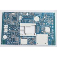 Blue Soldmask Electronic Printed Circuit Board 1.6mm Thickness HASL LF Surface Manufactures