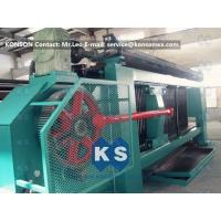 Industrial Gabion Production Line Twist Mesh Welded Machine 80 X 100mm Width 4300mm Manufactures